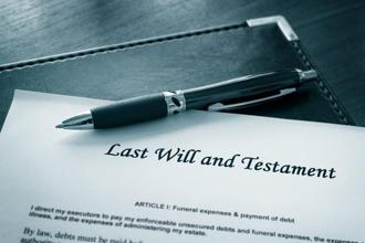 In the absence of a Will, the estate may be passed on to a relative whom the deceased did not wish to give anything. Photo: iStock