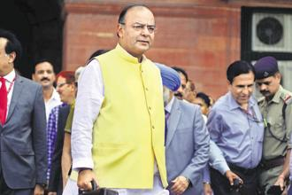 Finance minister Arun Jaitley will present the last budget of the Narendra Modi government's current term on 1 February. Photo: Pradeep Gaur/Mint