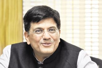 Railways minister Piyush Goyal. Photo: HT