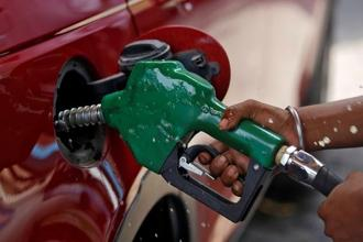 If the last three months are taken into account, the price of petrol and diesel have slumped by about 15% while Brent is down by about 25% during the same period. Photo: Reuters