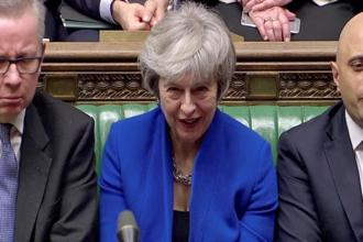 While the confidence vote brings short-term respite for PM Theresa May, the UK remains locked in a political crisis over Brexit. Photo: Reuters