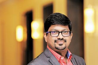 Saravanan Sundaramoorthy of Edsix Brain Lab. Photo: Sharp Image/Mint