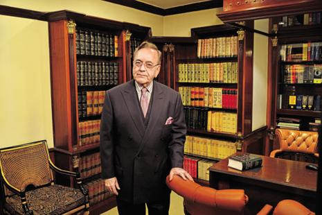 Former Pakistan foreign minister Khurshid Mahmud Kasuri was in Delhi to launch his book 'Neither A Hawk Nor a Dove'. Photo: Priyanka Parashar/Mint