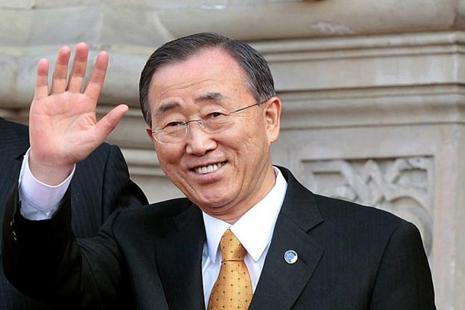 UN Secretary-General Ban Ki-moon strongly condemned North Korea's latest rocket launch. Photo: AP