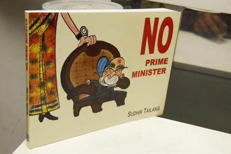 In 2009, Sudhir Tailang had released his book titled No, Prime Minister, which carried cartoons on Manmohan Singh drawn during the first stint of his prime ministership. Photo: Mint