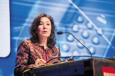 Safra A. Catz has driven Oracle's merger and acquisition strategy, overseeing nearly 100 deals worth billions of dollars for the firm. Photo: Aniruddha Chowdhury/Mint