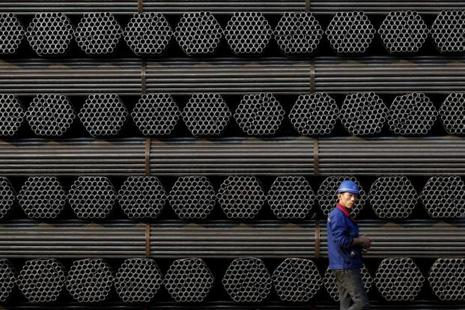 The European Commission announced investigations into whether seamless pipes, heavy plates and hot-rolled flat steel are sold into Europe at unfairly low price. Photo: Reuters