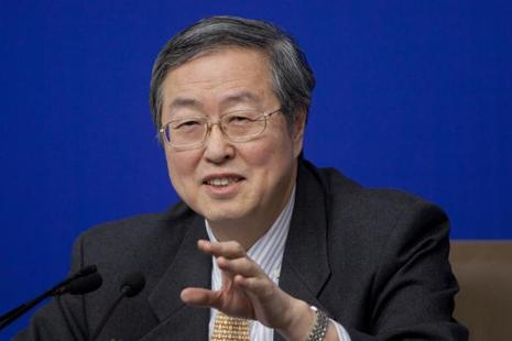A file photo of People's Bank of China governor Zhou Xiaochuan. Photo: Bloomberg