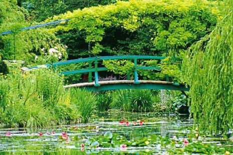 The pond in Claude Monet's house in Giverny, France. Photo: Alamy