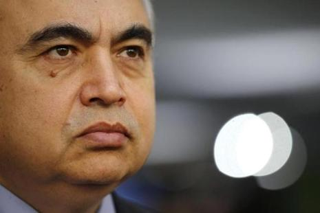 A file photo of IEA chief Fatih Birol, who said he hopes to see a rebound in upstream oil investments next year, following a 40% curb in investments over two years. Photo: Reuters