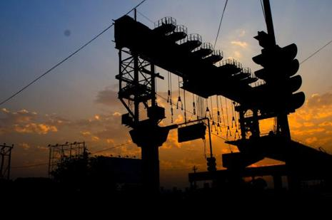 Infrastructure accounts for nearly 38% of India's industrial output. Photo: Ramesh Pathania/Mint