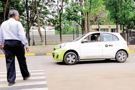 New avenues: If the pilot project turns out to be a success, Ola plans to extend services to the grocery segment. Photo: Mint