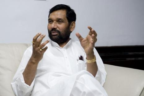 A file photo of food minister Ram Vilas Paswan. Photo: Mint