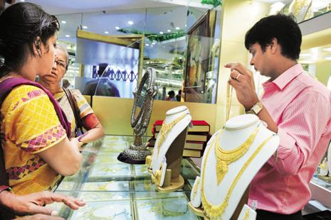 Easing demand from retailers as well as jewellers at current level also weighed on the precious metals prices. Photo: Indranil Bhoumik/Mint