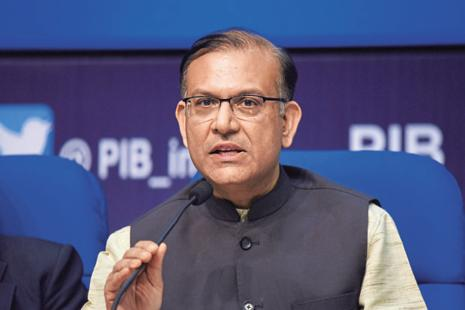 MoS finance Jayant Sinha. From 1 April 2017, the government will withdraw the capital gains benefits under the India-Mauritius tax treaty and implement general anti-avoidance rules (GAAR). Photo: Vipin Kumar/HT