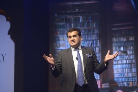 A file photo of Amitabh Kant, chief executive, NITI Aayog. Photo: Abhijit Bhatlekar/Mint
