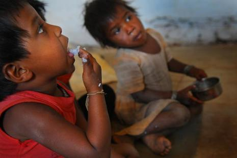 India ranks first among the nations in incidence of diseases such as diabetes, cardiovascular disorders, hypertension, tuberculosis, malnutrition, child and maternal health. Photo: Priyanka Parashar/Mint