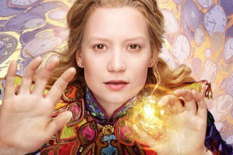 Mia Wasikowska reprises her titular role as Alice in the film.