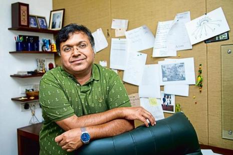 Devdutt Pattanaik. Photo: Aniruddha Chowdhury/Mint