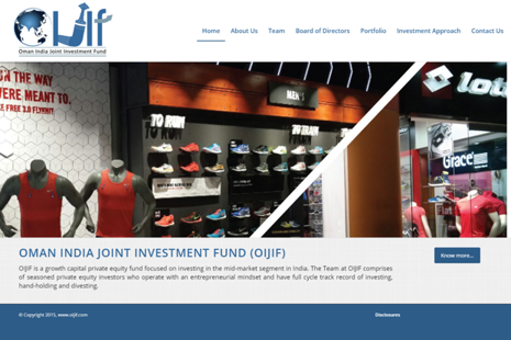 Through its first fund, OIJIF made investments in sectors such as financial services, consumers and industrials.