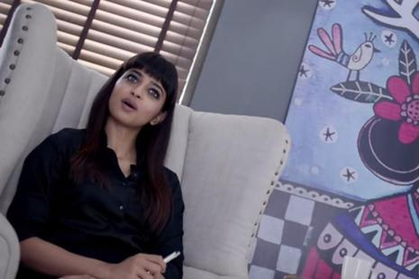 A scene from the short film 'Kriti'.