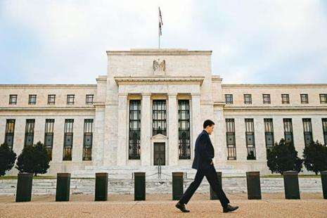 Traders of U.S.-interest rate futures even began to price in a small chance of a Fed rate cut, and now see little chance of any rate hike until the end of next year. Photo: Reuters