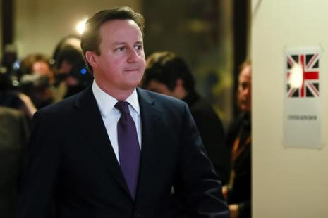 UK prime minister David Cameron. Photo: Bloomberg