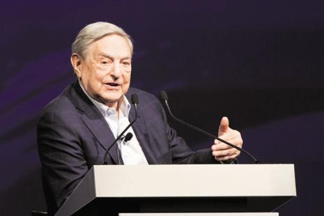 George Soros says tensions among EU member states have reached a breaking point, not only over refugees, but also as a result of exceptional strains between creditor and debtor countries within the eurozone. Photo: Bloomberg