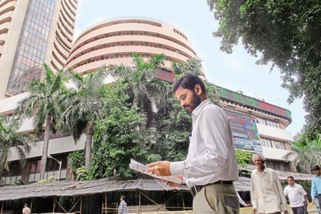 Until 2007, 790 broker-members held 100% in the Asia's oldest stock exchange and the exchange was, by and large, by the brokers, for the brokers and of the brokers.  Photo: Hemant Mishra/Mint