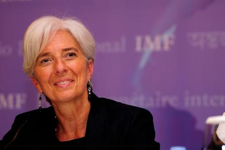 A file photo of IMF chief Christine Lagarde. Photo: Pradeep Gaur/Mint