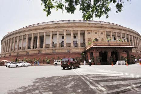 On Friday, minister of state for parliamentary affairs Mukhtar Abbas Naqvi told the Rajya Sabha that the GST Bill will come up for discussion next week. Photo: Hindustan Times
