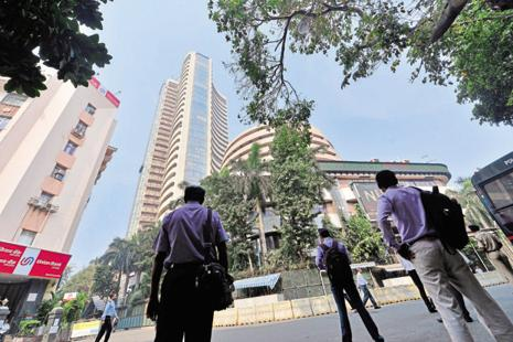 BSE mid-cap index was trading at 33.12 times one-year forward P-E as on 25 July, the valuation last seen in January 2008, when the market was inching to new highs. Photo: Aniruddha Chowdhury/Mint