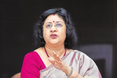 Arundhati Bhattacharya, SBI's chairperson. Photo: Mint