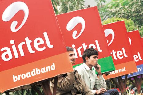 Revenue of Airtel's India mobile business rose by 9.1% y-o-y in the June quarter, Ebitda rose nearly 20%. Photo: Reuters