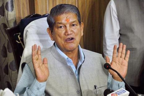 Uttarakhand chief minister Harish Rawat termed the incursion by Chinese troops as 'something to worry about'. Photo: PTI