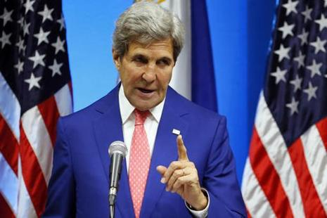 File photo. John Kerry said that the US is ready to improve and expand its multi-dimensional partnership with Pakistan. Photo: AP