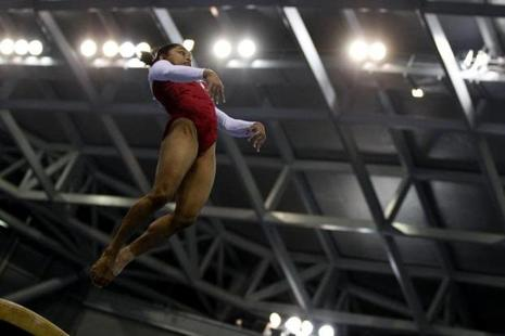 Dipa Karmakar. Photo: Reuters