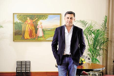 Nikesh Arora left SoftBank after CEO Masayoshi Son, who had called him a likely successor earlier this year, decided to remain at the helm of the company he founded. Photo: Pradeep Gaur/Mint