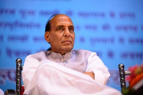 Rajnath Singh's visit comes amid a war of words between India and Pakistan over alleged human rights in Indian-administered Kashmir.  Photo: Pradeep Gaur/Mint