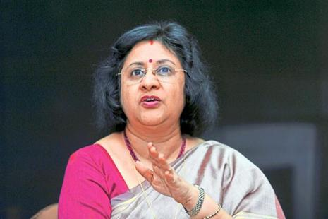 State Bank of India chairman Arundhati Bhattacharya.