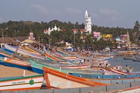 A file photo of Vizhinjam port. In effect, Vallarpadam, Vizhinjam and Enayam will fight for cargo containers from the same hinterland in Tamil Nadu, Kerala, Karnataka and Andhra Pradesh which currently generate as much as 2.3 million TEUs a year.