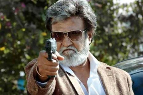 Rajinikanth in a still from 'Kabali'.