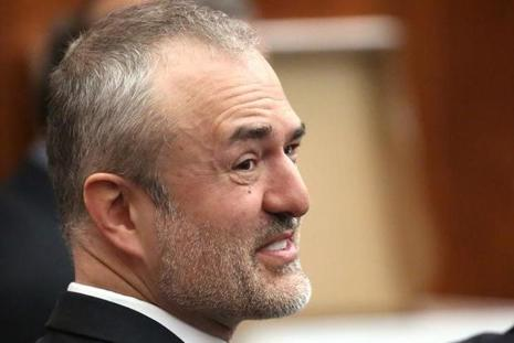 File photo. Nick Denton had told the court at the hearing that he would use stock in Gawker worth $81 million as security to guarantee payment of the jury verdict. Photo: Reuters