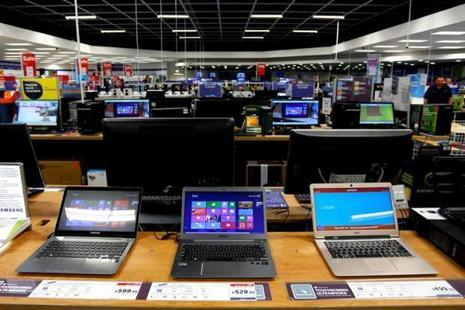 With a market share of 28.4%, HP Inc. was the top seller of PCs in the Indian market in the June quarter. Photo: Bloomberg