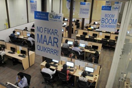 Quikr had earlier committed an investment of Rs250 crore to strengthen its home services vertical.   Photo: AFP
