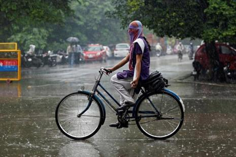 India has so far received 2% lower rainfall than normal since the start of the monsoon season on 1 June.  Photo: Reuters