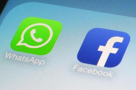 WhatsApp says current users have up to 30 days to accept the new policy terms or stop using the service. Once they accept, they have 30 more days to opt out of sharing with Facebook.  Photo: AP