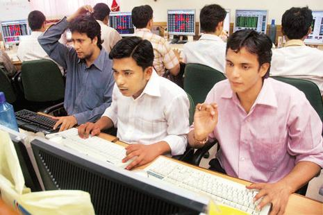 There were 590,000 individuals who recorded short-term capital gains or losses during FY12, according to the previous tax data released in April. Photo: PTI