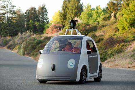 Google currently has almost 60 test vehicles on the road and has driven 1.8 million miles autonomously. Photo: AP