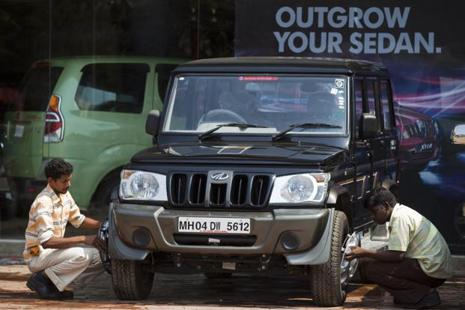 Mahindra plans to launch a couple of new variants of the Bolero to boost sales. Photo: Bloomberg
